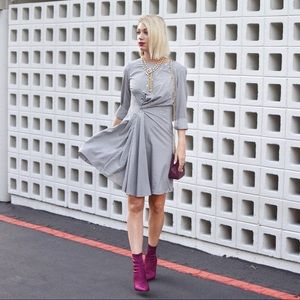Perfect Condition Asymmetric Shirt Dress